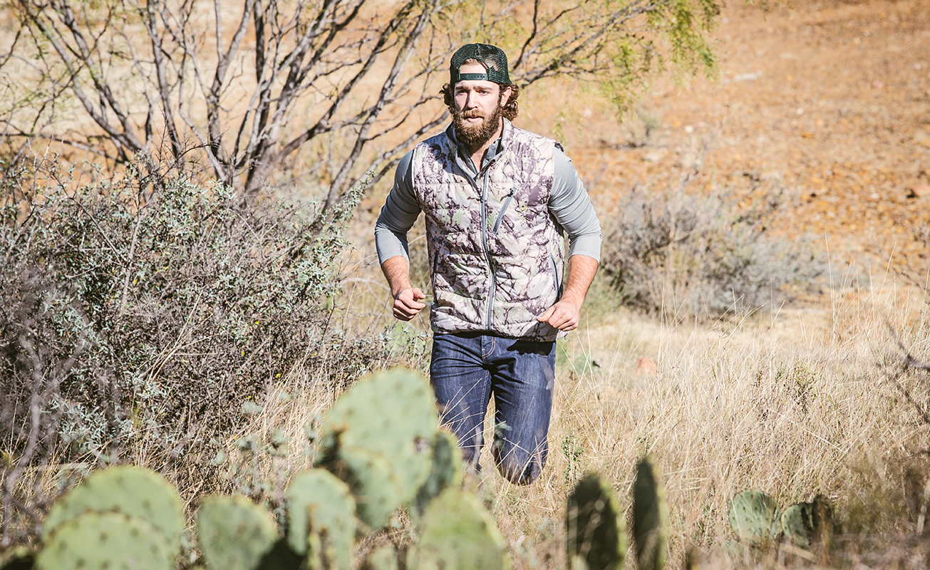 SIXSITE Nueces insulated vest is good for layering in later hunting seasons