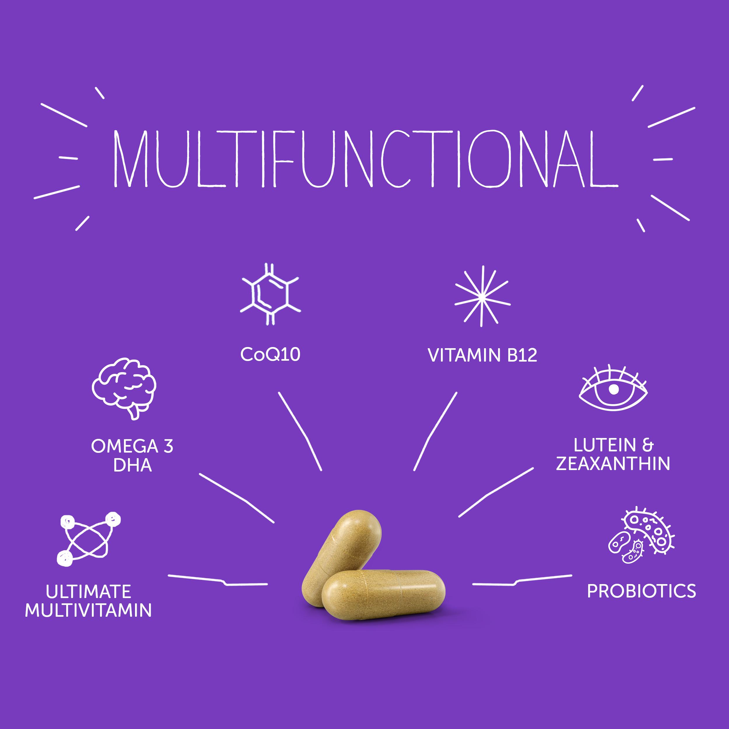 PhD Multifunctional Health Supplement for Men