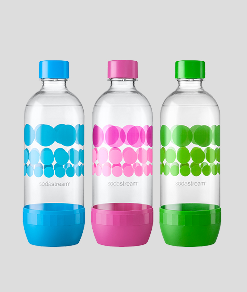 שלישיית בקבוקים נקודות (1 ליטר)
