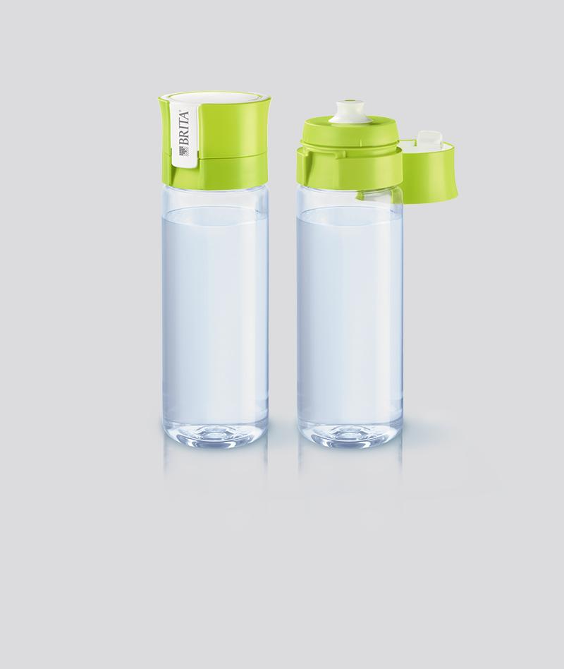 בקבוק אישי fill&go בצבע ליים