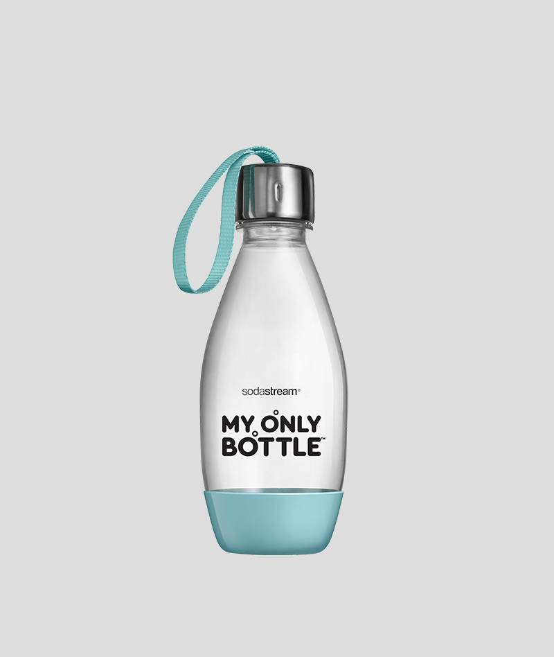 בקבוק אישי בצבע תכלת (0.5 ליטר)- מתאים למדיח