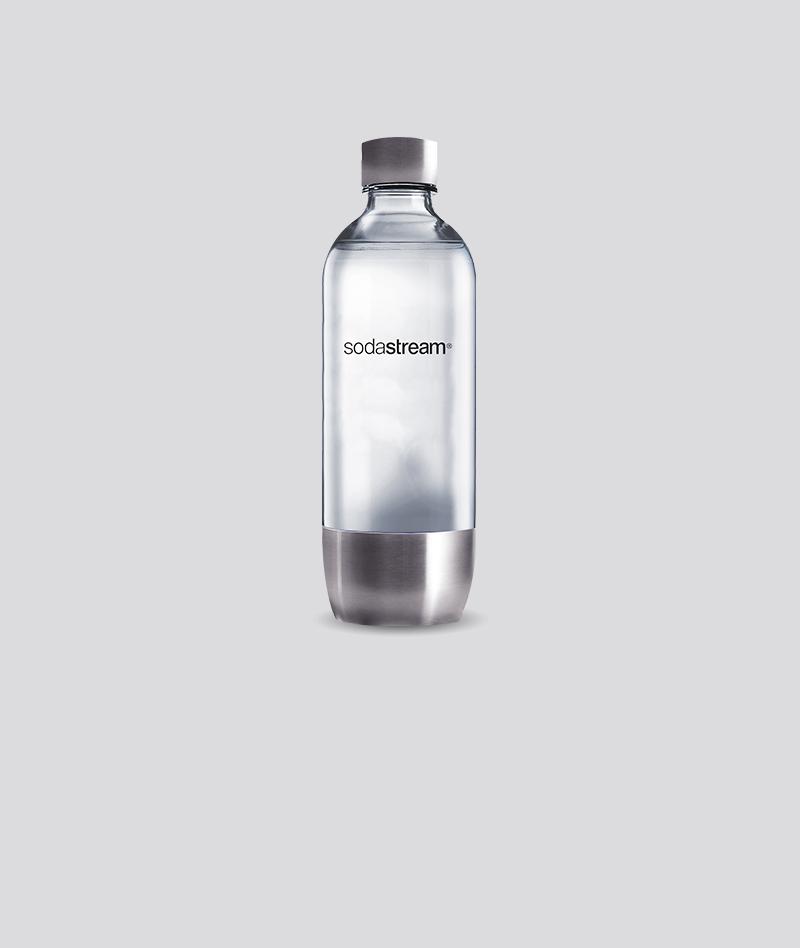 1L Metal Flaska