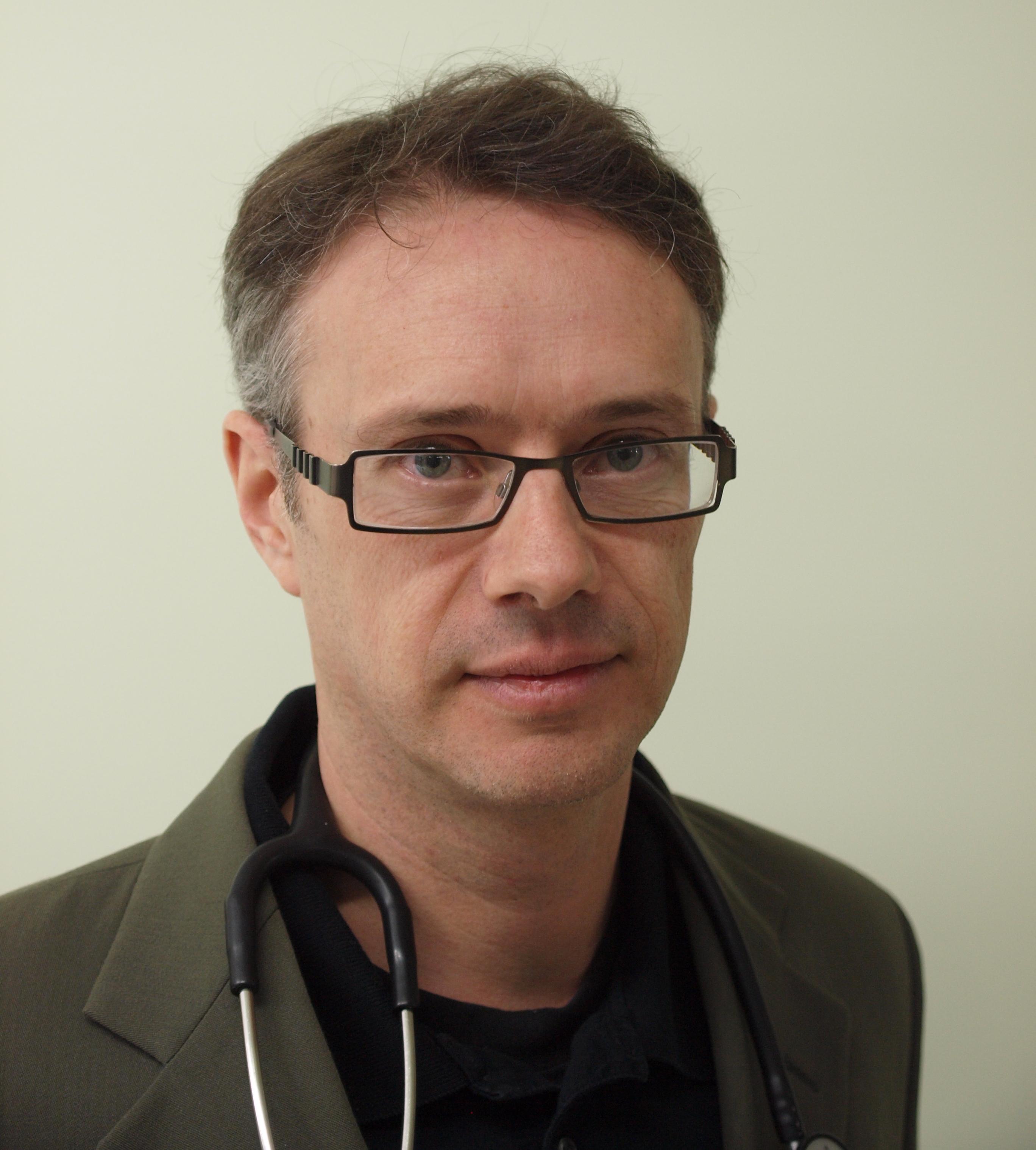 Headshot of Dr. Terry Vanderheyden