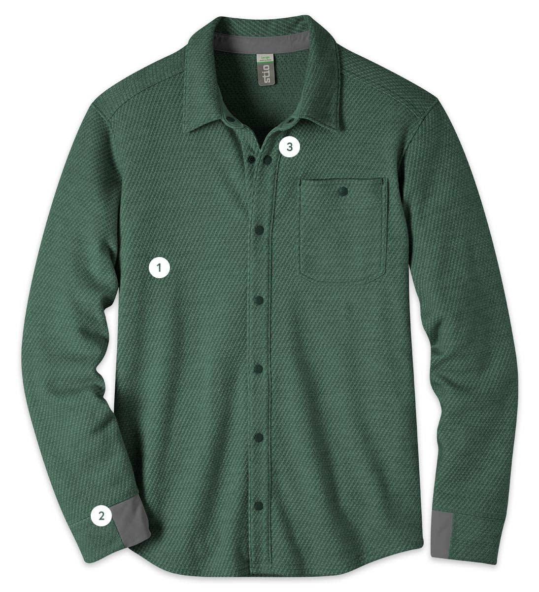 A technical fleece flannel that ranges far beyond town limits. 43b4d20f5