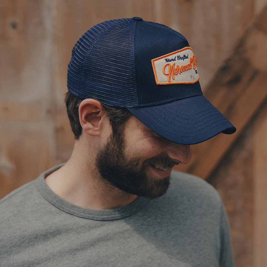 Built by Brothers Cap - Navy - The Normal Brand 0e7a56de19f