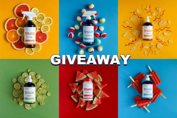 Awesome August Giveaway of Home Cleaning and Organic Hand Soaps from Truce