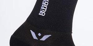 Managed compression socks
