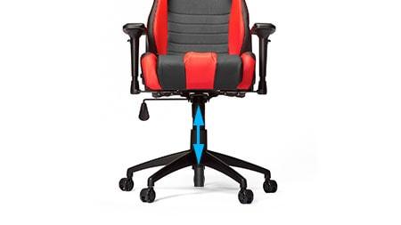 Buy corsair t road warrior gaming chair black red wide seat