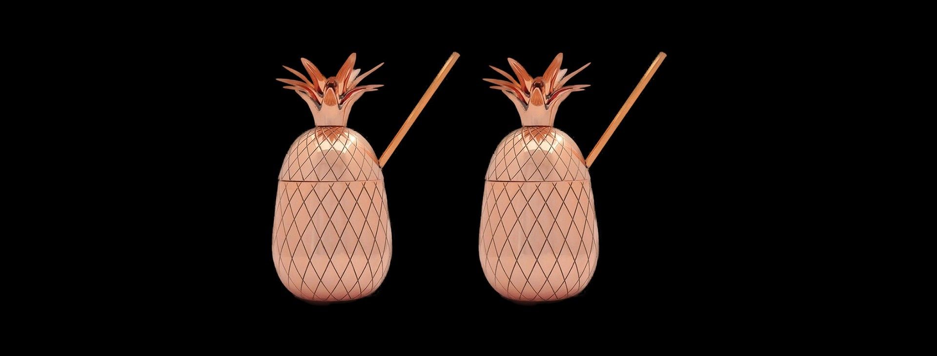 The Pineapple Co. by W&P Design Large Pineapple Tumbler Set
