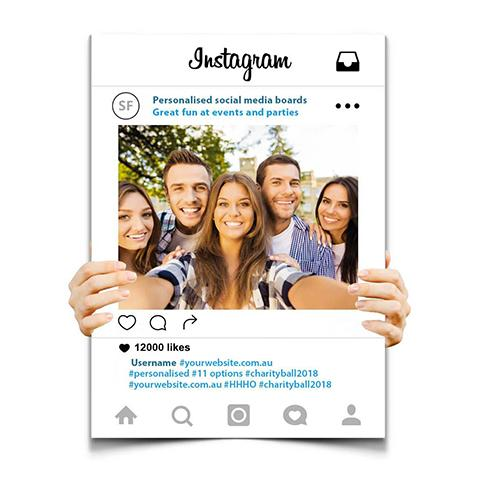 Instagram Cut Out Frame