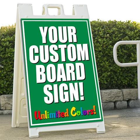 Custom Sandwich Board