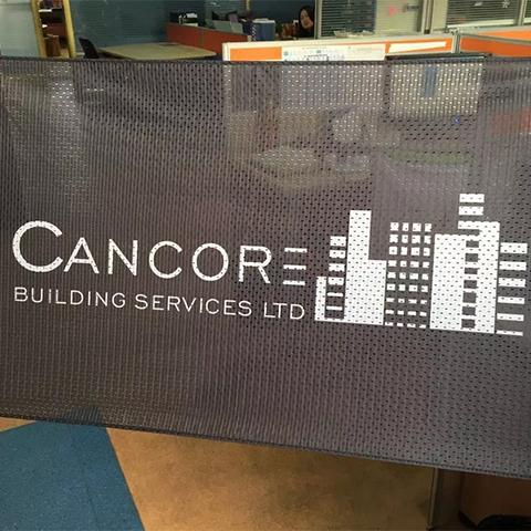 Construction Mesh Banners