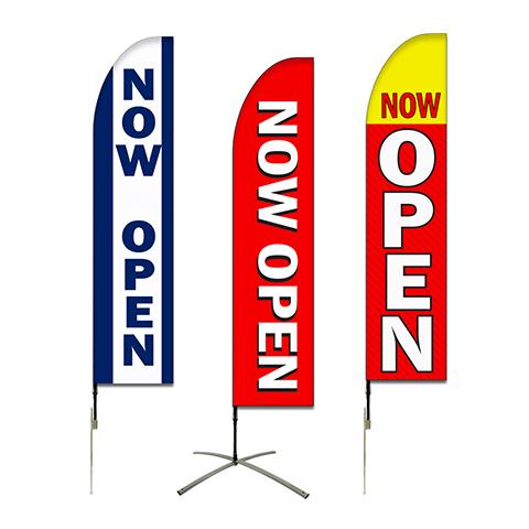 Now Open Flags For Shops