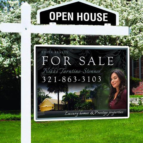 Custom Real Estate Signs Open House Signs