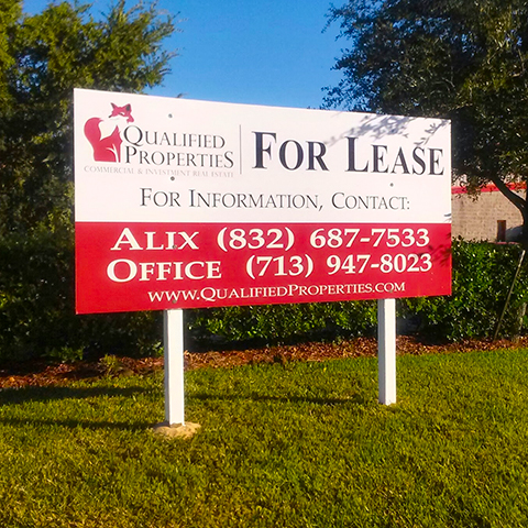 Cheap Real Estate Signs