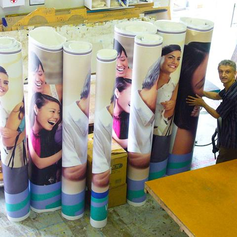 Large Format Stickers Printing