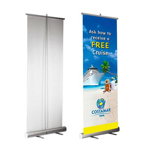 Fabric Pull Up Banners