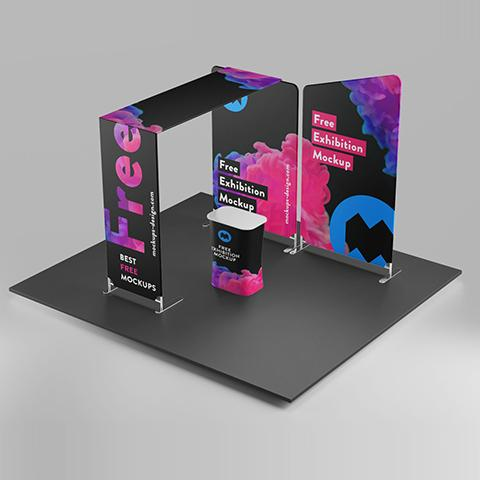 Exhibition Booth Stand Displays