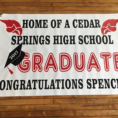 Custom Graduation Signs & Banners