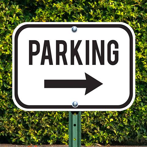 Custom Aluminum Parking Signs