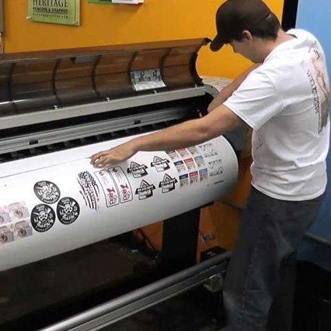 Custom Decal Printing