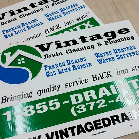 Digital Signs and Printing