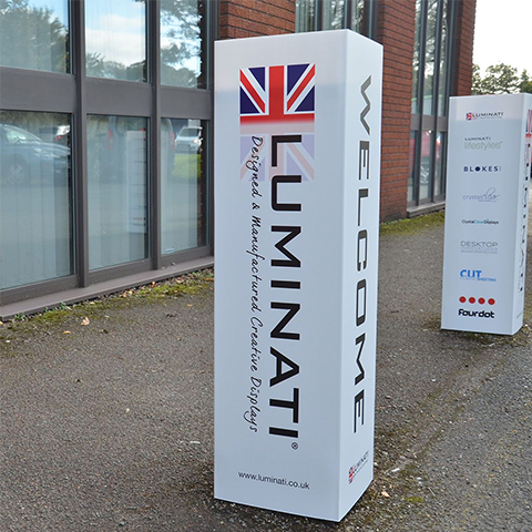 Bollards | Cheap Bollard Signs | Plastic Bollard Signs