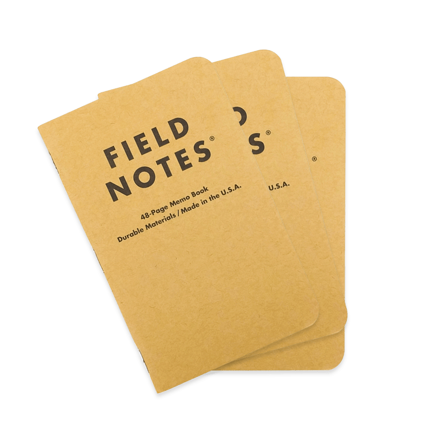 Field Note | Field Notes Plain Paper 3 Pack Woolet